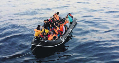 The Aegean Sea, where Turkey is littoral along with Greece, is both heaven and hell for countless migrants from war-torn, underdeveloped countries. Almost every day, especially in summer, dozens,...
