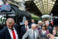 Sir Nicholas Winton, a humanitarian who almost single-handedly saved more than 650 Jewish children from the Holocaust, earning himself the label