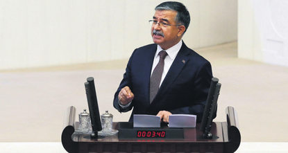İsmet Yılmaz, the candidate from the ruling Justice and Development Party (AK Party) has been chosen as the Parliament speaker on the final round of the elections, as the first three gave no...