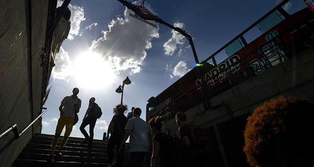 Western Europe sweats, Spain faces record heat