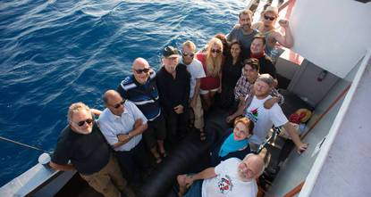 Pro-Palestinian activists on Wednesday called for the release of those detained by Israel after their aid ship was intercepted on its way to Gaza.