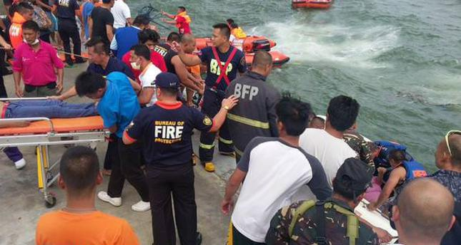 At least 36 dead in Philippine ferry accident