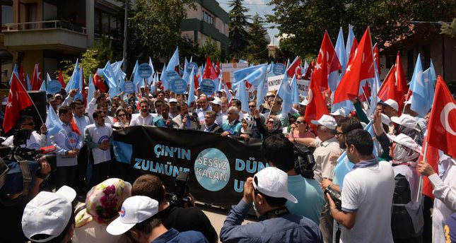 Turks' outrage over China's suppression of Uighurs grows