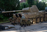 Authorities seized a 45-ton Panther tank, a flak cannon and multiple other World War II-era military weapons in a raid on a 78-year-old collector's home in northern Germany, prosecutors said...