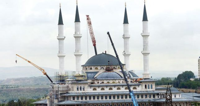 Erdoğan opens Nation Mosque in Presidential Palace