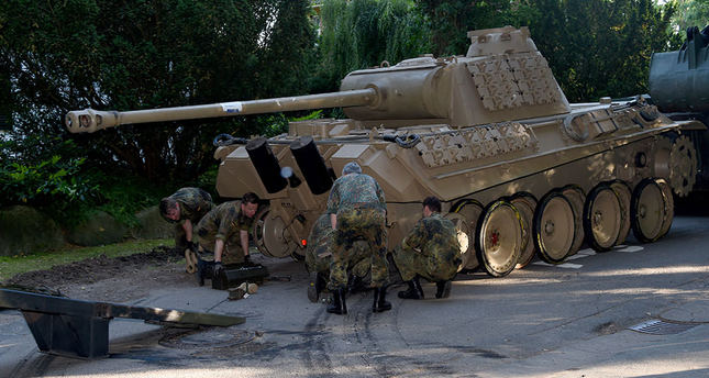 WWII era tank, other weapons seized in Germany raid