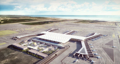 Construction of the terminal building of Istanbul's third airport has started, Turkey's General Directorate of State Airports Authority head Serdar Hüseyin Yıldırım said late Friday in a meeting...