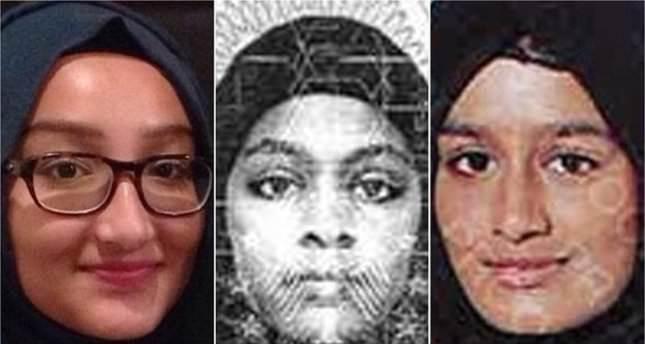 'Three Syria-bound UK girls spotted in Raqqa'