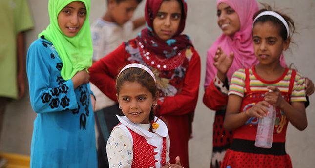 Heatwave threatens lives of Iraqi children in camps