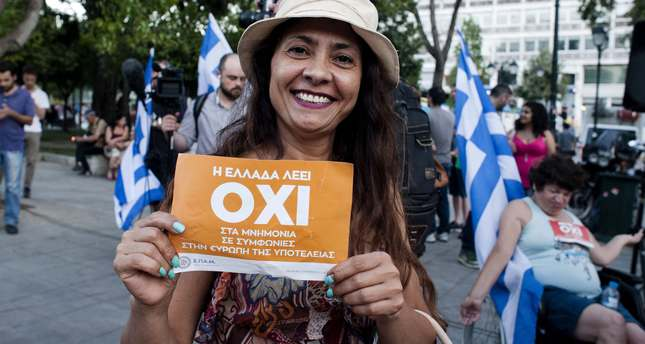 Greeks have spoken: 'no' to austerity