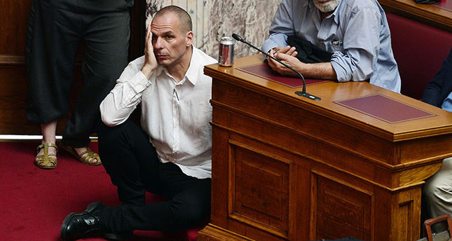 Greek finance minister Varoufakis resigns