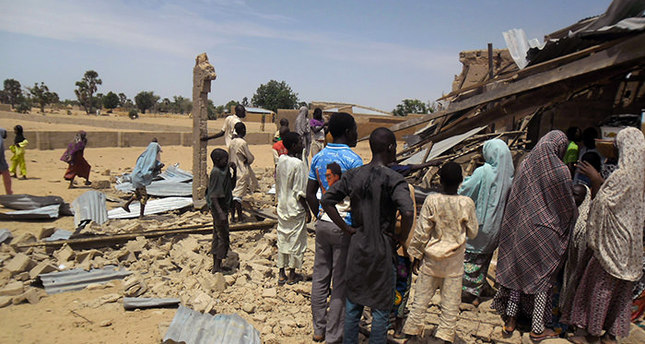 Twin bomb blasts kill at least 44 in central Nigeria