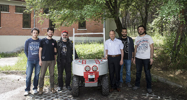 Turkish scientists reveal unmanned off-road vehicle