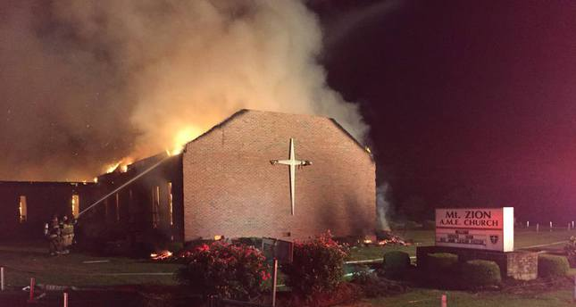 Muslim groups fundraise to rebuild black churches
