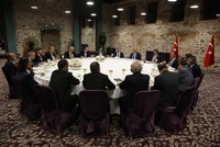 Prime Minister Ahmet Davutoğlu, speaking to the editors-in-chief of national newspapers at a dinner late on Saturday, said the regional balance had changed the moment Islamic State of Iraq and...