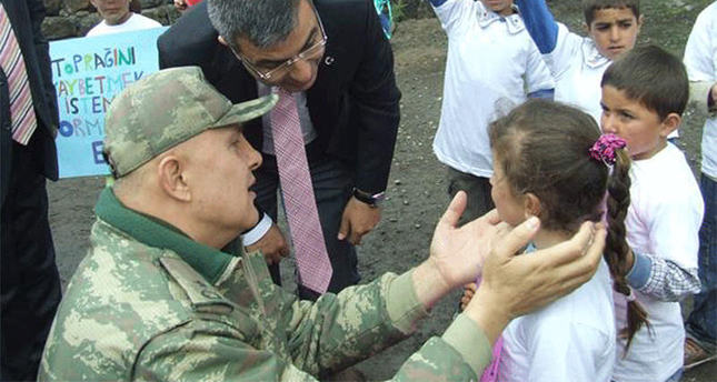 Commander martyred by PKK in eastern Turkey