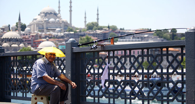 Istanbul sweats in hottest week of summer