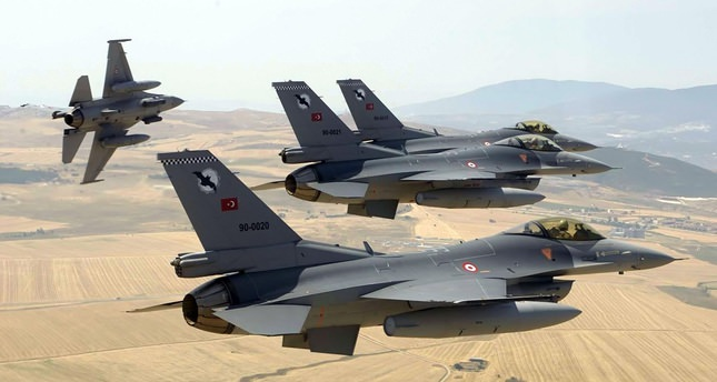Jets hit PKK camps, detained suspects reach 1,302