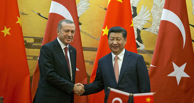 President Erdoğan in China to boost trade, investment