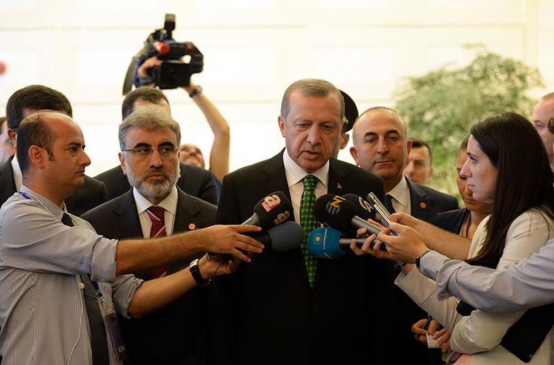 President Erdoğan dismisses HDP leader's claims