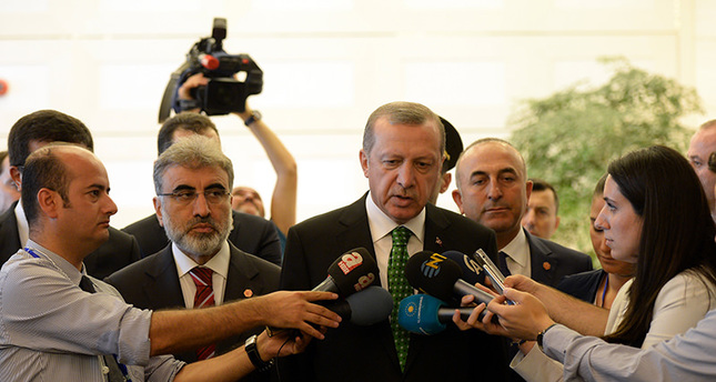 President Erdoğan dismisses HDP leader's claims