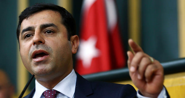HDP's Demirtaş faces investigation on Kobani riots