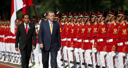 President Recep Tayyip Erdoğan, speaking on Friday at a joint press conference with Indonesian President Joko Widodo, called on the international community to show solidarity in the fight against...