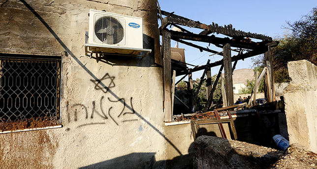 Palestinian toddler burned to death in arson attack