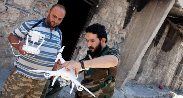 Low-cost drones benefit Syrian opposition on battlefield