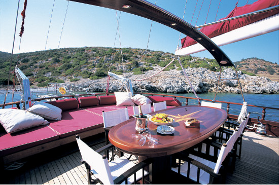 A Mediterranean adventure: Gulet sailing on the Turkish Riviera