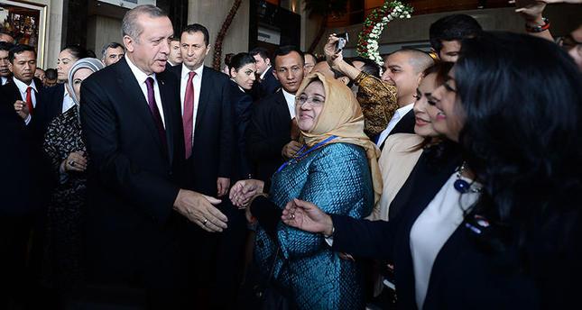 President Erdoğan leaves Indonesia for Pakistan