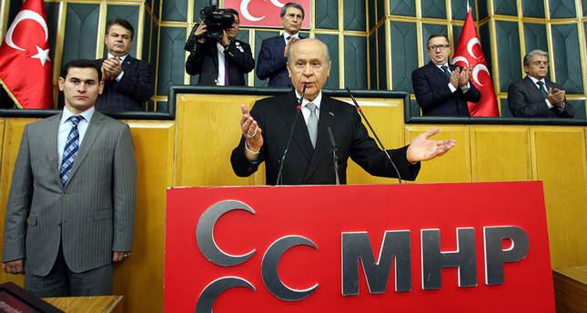 MHP's Bahçeli urges AK Party – CHP coalition