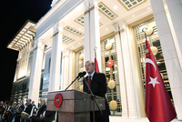 President Recep Tayyip Erdoğan's first year in office has marked many unprecedented features in Turkey's political history, from the day he was elected by a popular vote on August 10, 2014, as he...