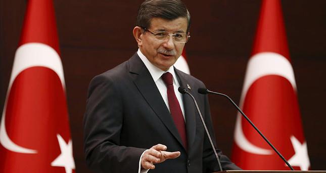 PM Davutoğlu to present caretaker cabinet to President