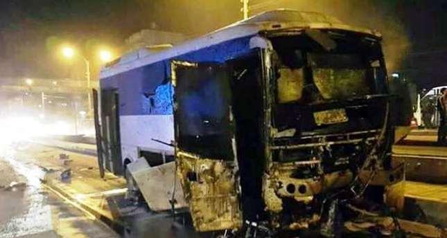 24 injured in PKK bomb attack on police bus