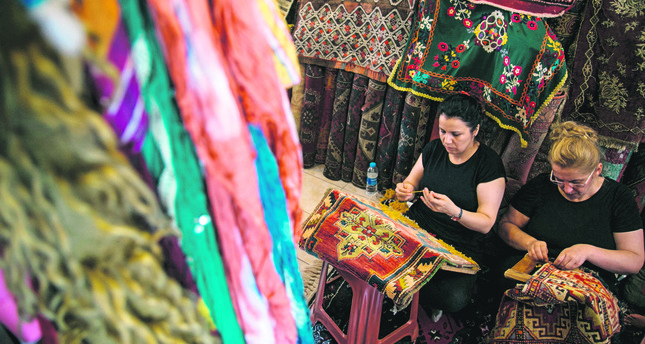 Centuries old carpets restored in Turkey