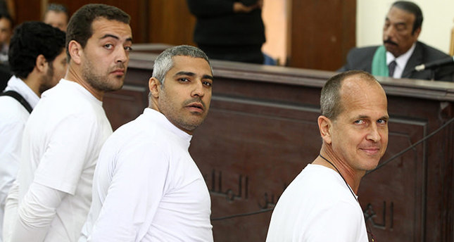 Egypt sentences 3 Al Jazeera staff to 3 years in jail