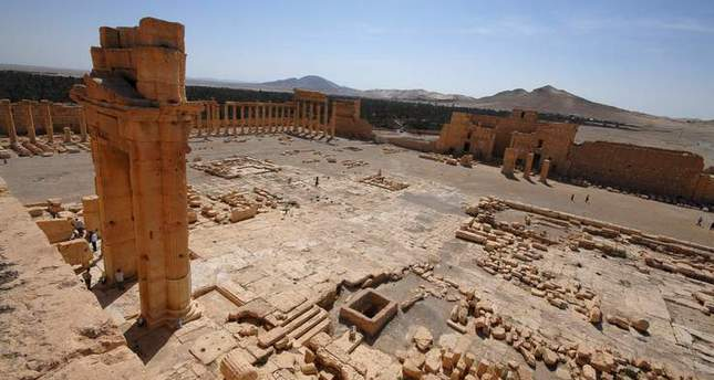 ISIS blasts Temple of Bel in Syria: monitor group