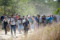 Three young children suffering from dehydration and close to death were rescued from a van crammed with 26 refugees from Syria, Afghanistan and Bangladesh, Austrian police said on Saturday. The two...