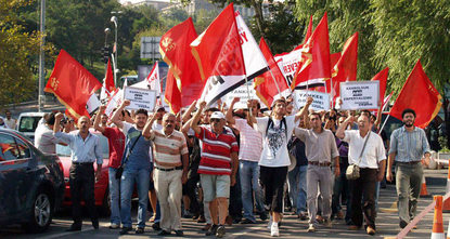 Following last year's split of Communist Party of Turkey (TKP), yet another group was formed in early August from the successors of the party.