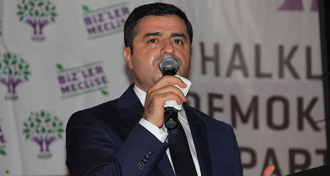 HDP's Demirtaş against crackdown on PKK terrorists