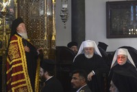 Archbishops and bishops of Orthodox churches from around the world attended Indiction, a religious service to mark the church's New Year according to Orthodox Christian beliefs, in Istanbul...