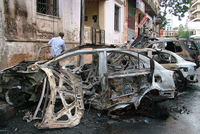 Seven people were killed and 40 wounded on Wednesday in a rare car bombing in the Syrian city of Latakia, the coastal bastion of President Bashar al-Assad, state television said.   In a breaking...