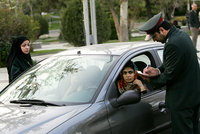 Women drivers in Iran's capital could have their cars impounded by police if they are caught driving with a poorly fixed veil or without their heads covered, a police chief said Wednesday.