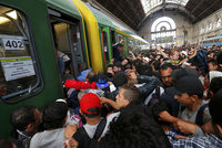 Hungarian police allowed hundreds of refugees to pour into Budapest's main railway station on Thursday but authorities cancelled all trains to western Europe, triggering chaos and...