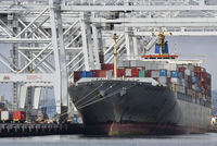 The U.S. trade deficit fell in July to its lowest level in five months as exports rose, signaling underlying strength in the economy amid concerns about a global growth slowdown.
