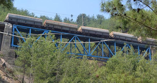 Freight train struck by blast in southern Turkey