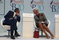Leading names from the global finance world, including the Managing Director of the IMF Christine Lagarde, came together for the Turkey B20 Conference to discuss current economic matters includin