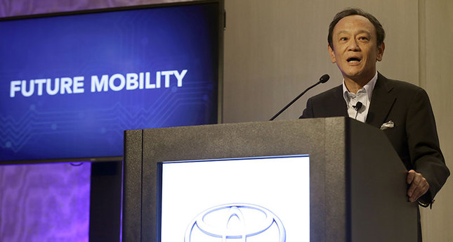 Toyota invests $50m in self-driving car research