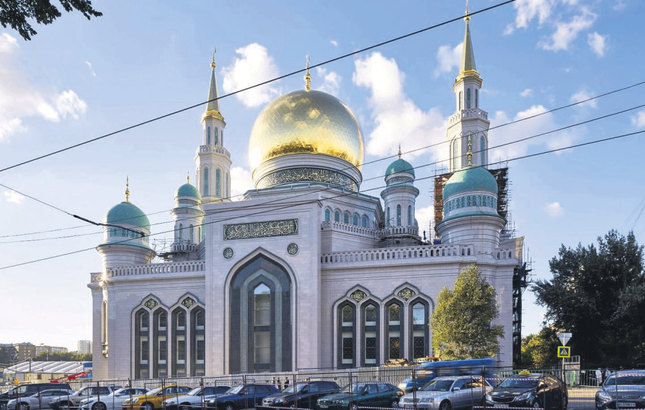 Moscow houses largest mosque in Europe - Daily Sabah